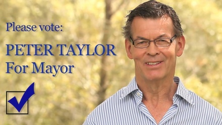 PeterTaylor For Mayor-poster